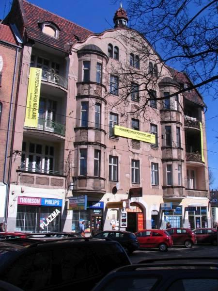 Dąbrowskiego 33 - przed remontem